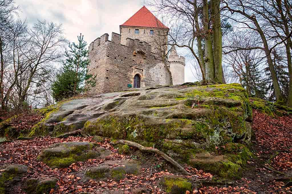 Best Castles in Czech Kokorin Castle