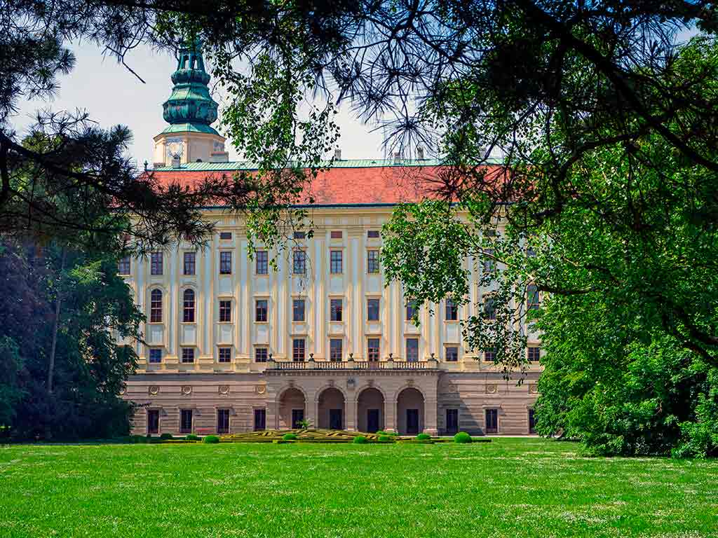 Castles in Czech Kromeriz Castle