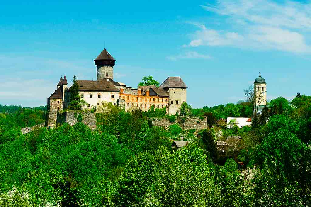 Best Czech Castles Sovinec Castle