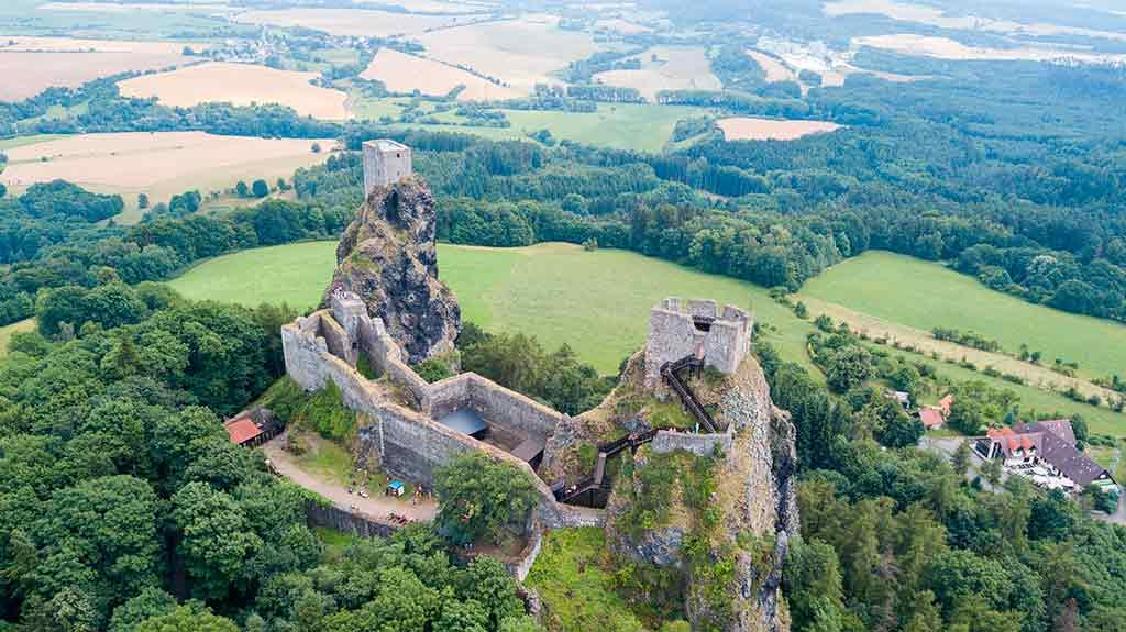 Czech Castles Trosky Castle