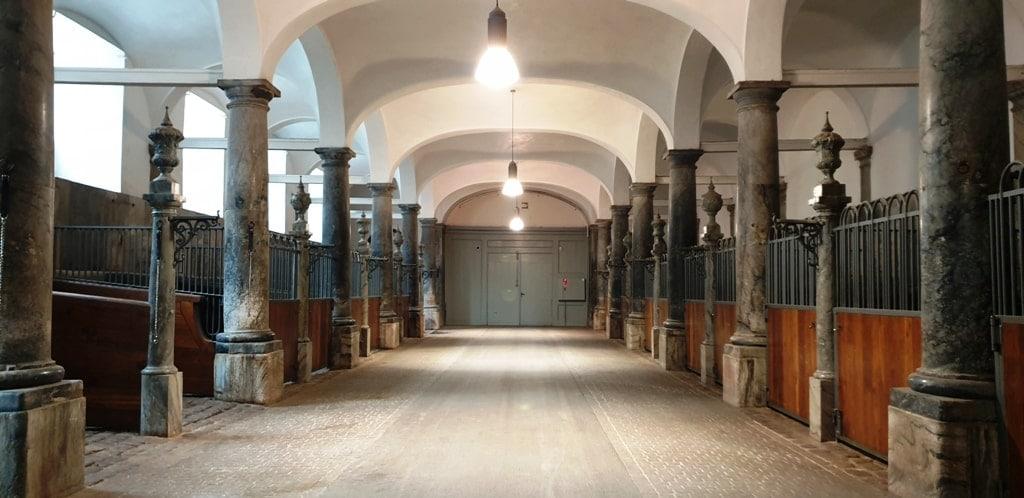 Christiansborg Palace stables - castles in Copenhagen