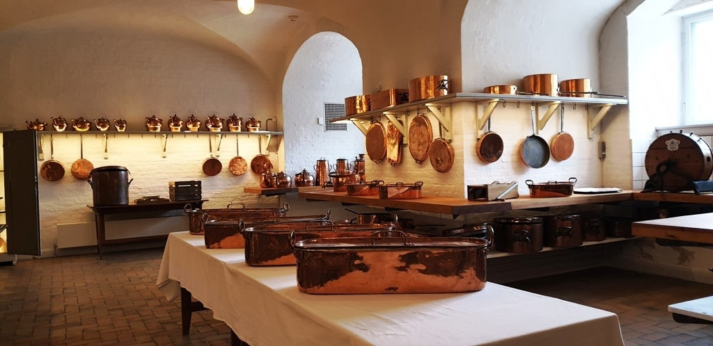 Christiansborg Palace kitchen