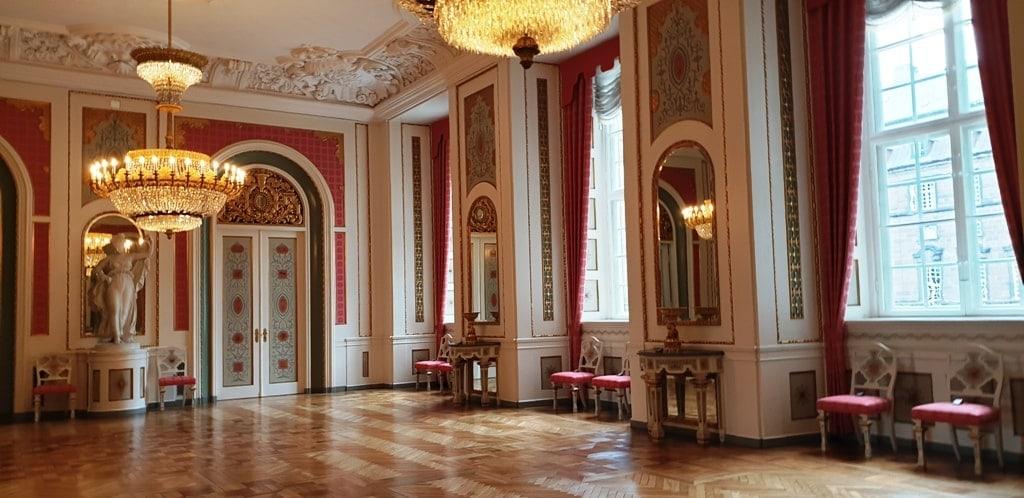 inside Christiansborg Palace - Castles in Copenhagen