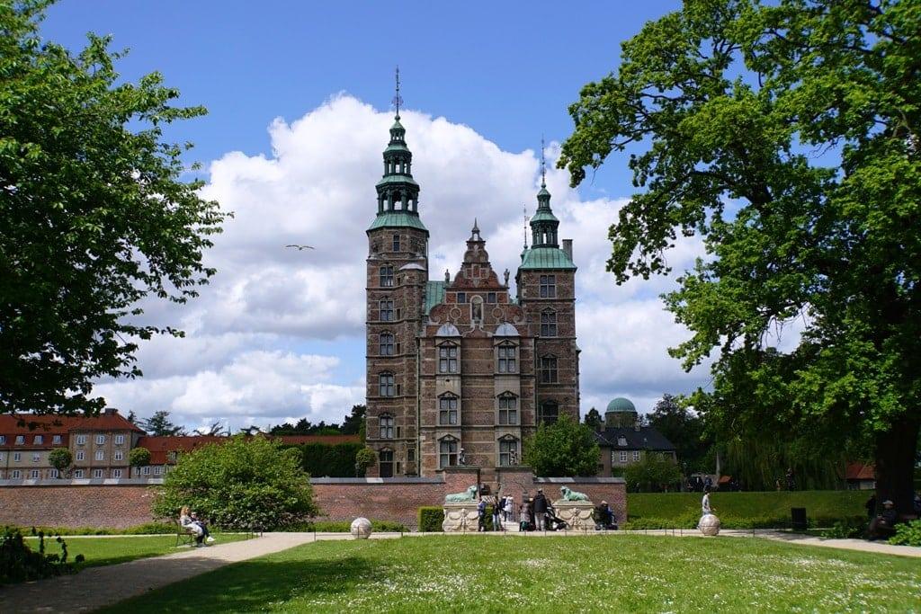 Rosenborg Castle - Castles in Copenhagen Denmark