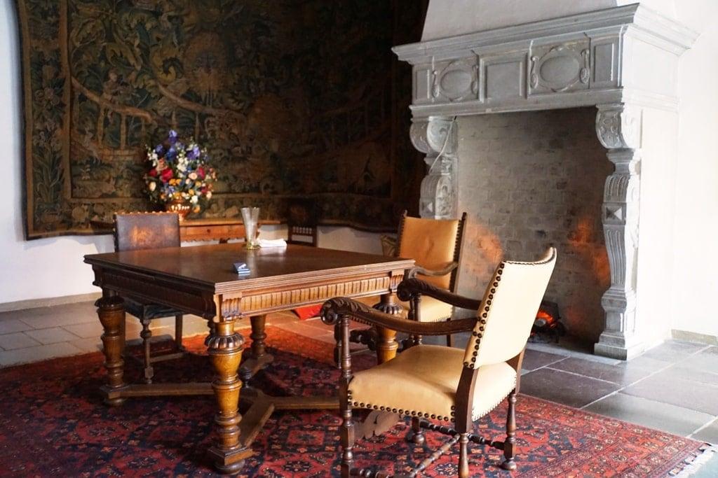 inside Kronborg Castle - Castles near Copenhagen