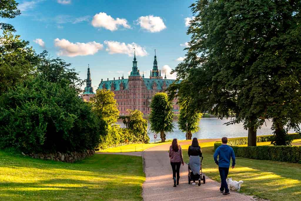 Castles in Copenhagen Frederiksborg-Castle-