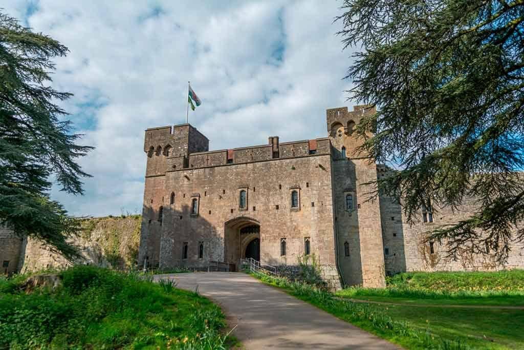 Famous castles in South Wales-Caldicot-Castle