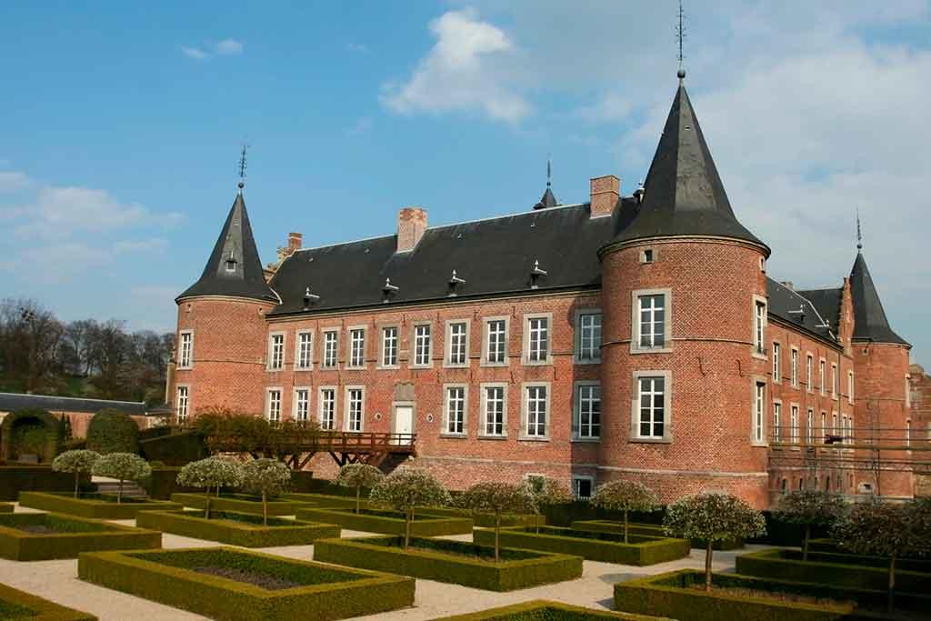 Castles in Belgium-Alden-Biesen-Castle