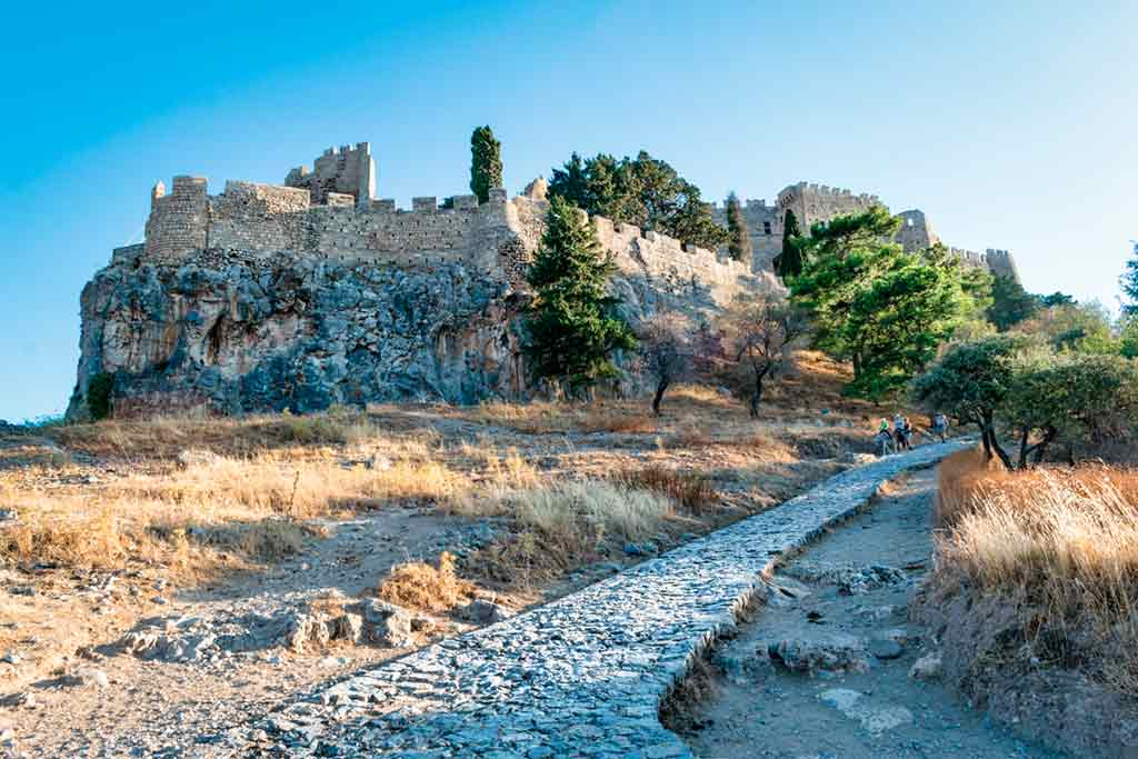 Greek Castles-Asini-Castle