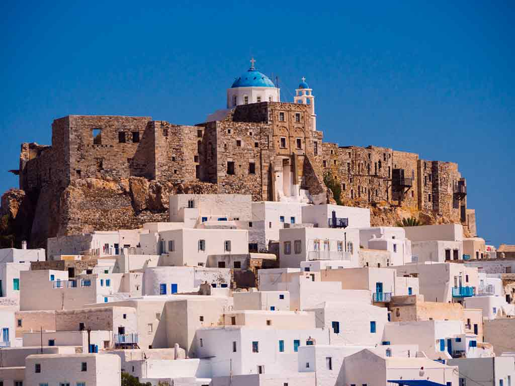 Best Greek Castles-Astypalaia castle