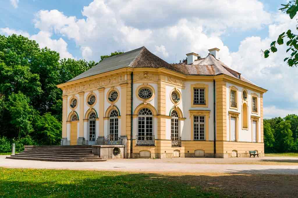 Famous Castles near Munich-Badenburg