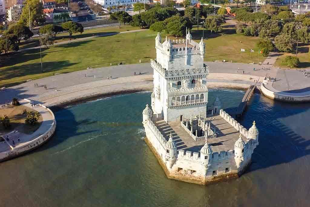 Castles in Portugal-Belem-Tower