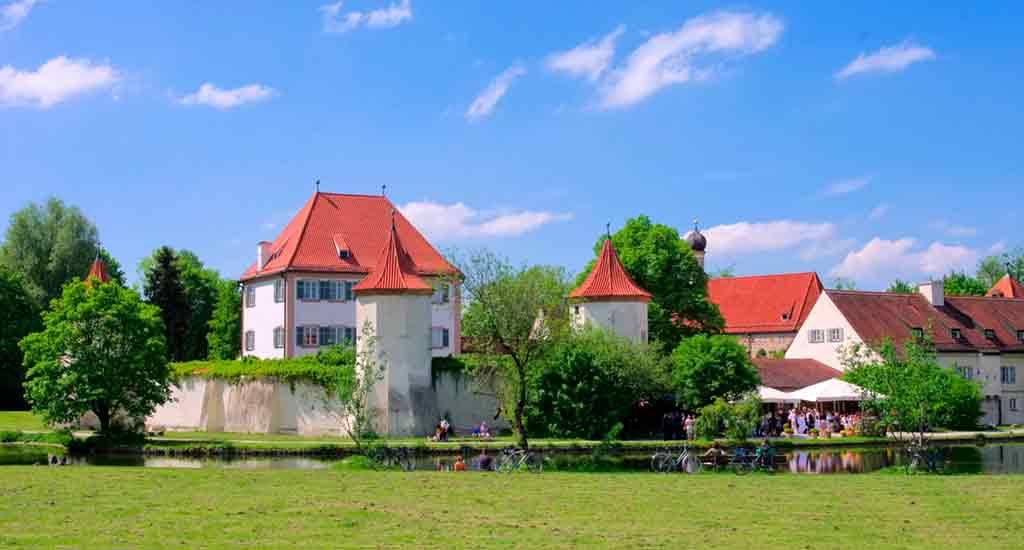 Famous Castles near Munich-Blutenburg-Castle