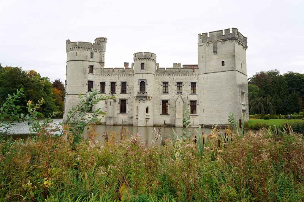 Belgian Castles-Bouchout-Castle