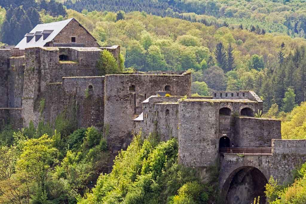 Famous Castles in Belgium-Bouillon-Castle
