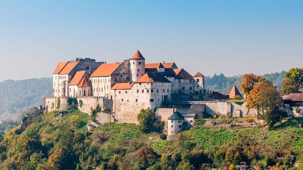 Castles in Bavaria-Burghausen-Castle
