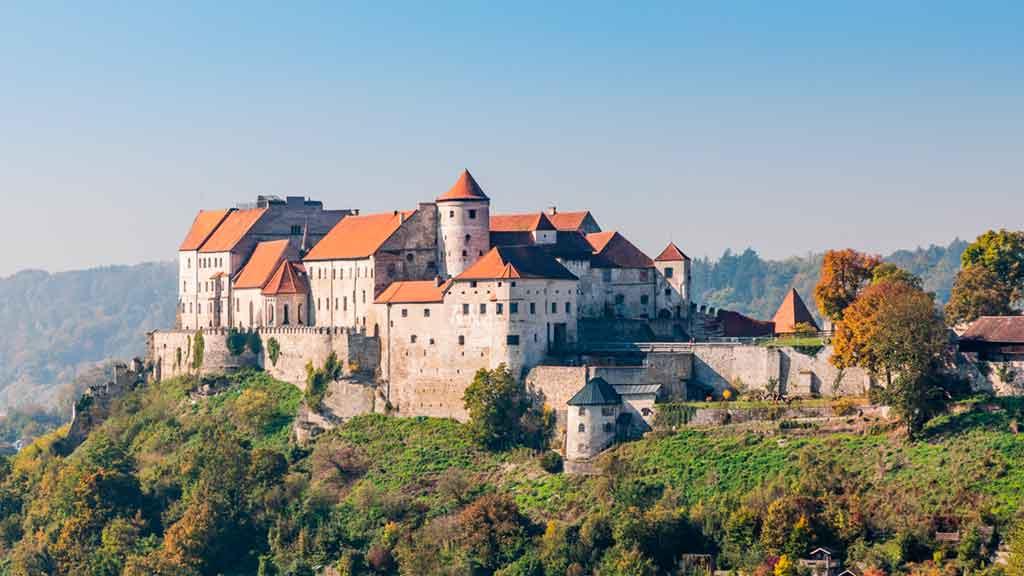 Castles in Bavaria-Burghausen-Castle