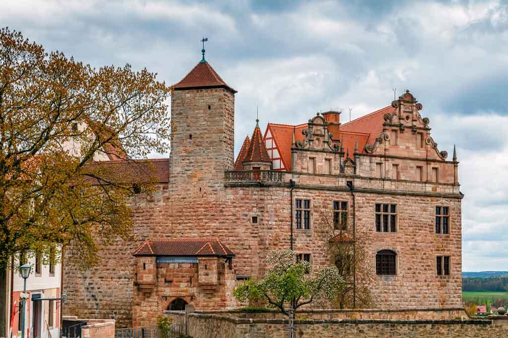 Bavarian Castles-Cadolzburg-Castle