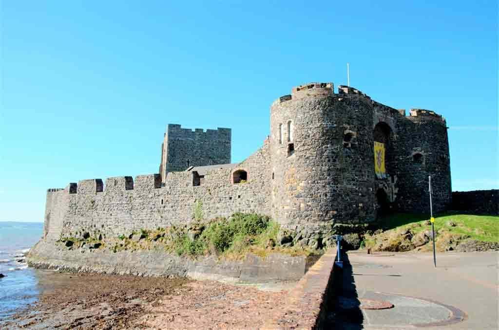 Famous haunted castles-Carrickfergus-Castle