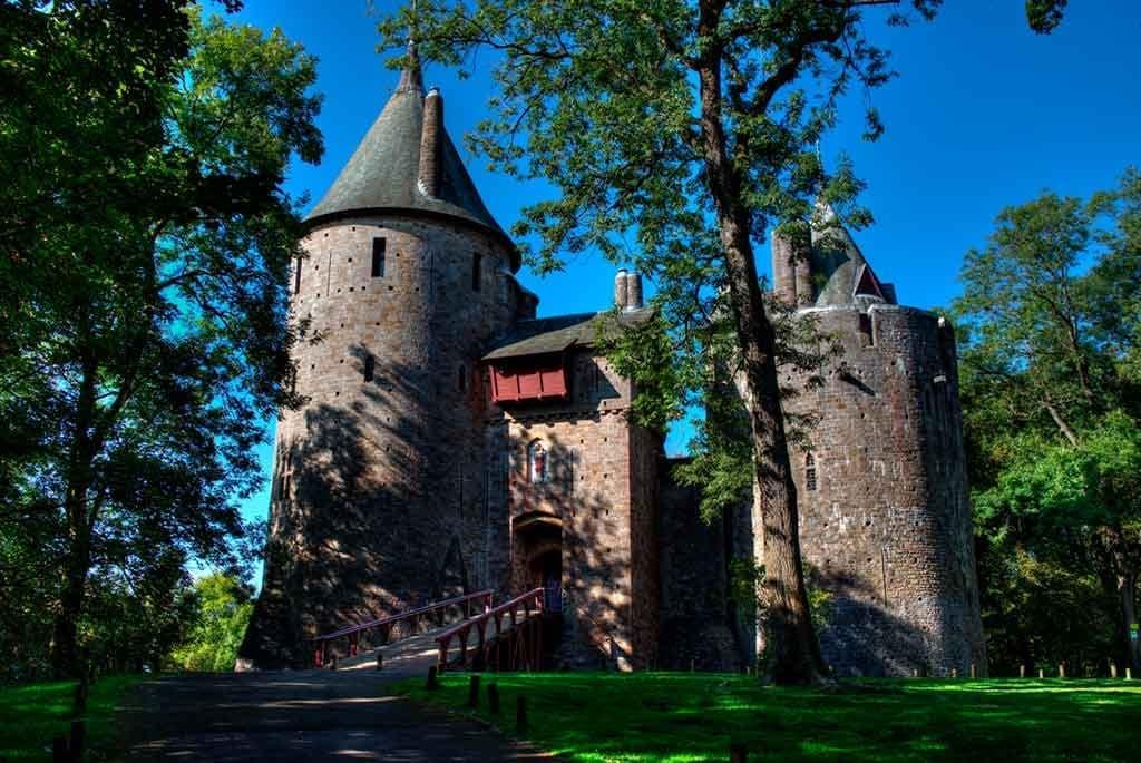 Best castles in South Wales-Castell-Coch