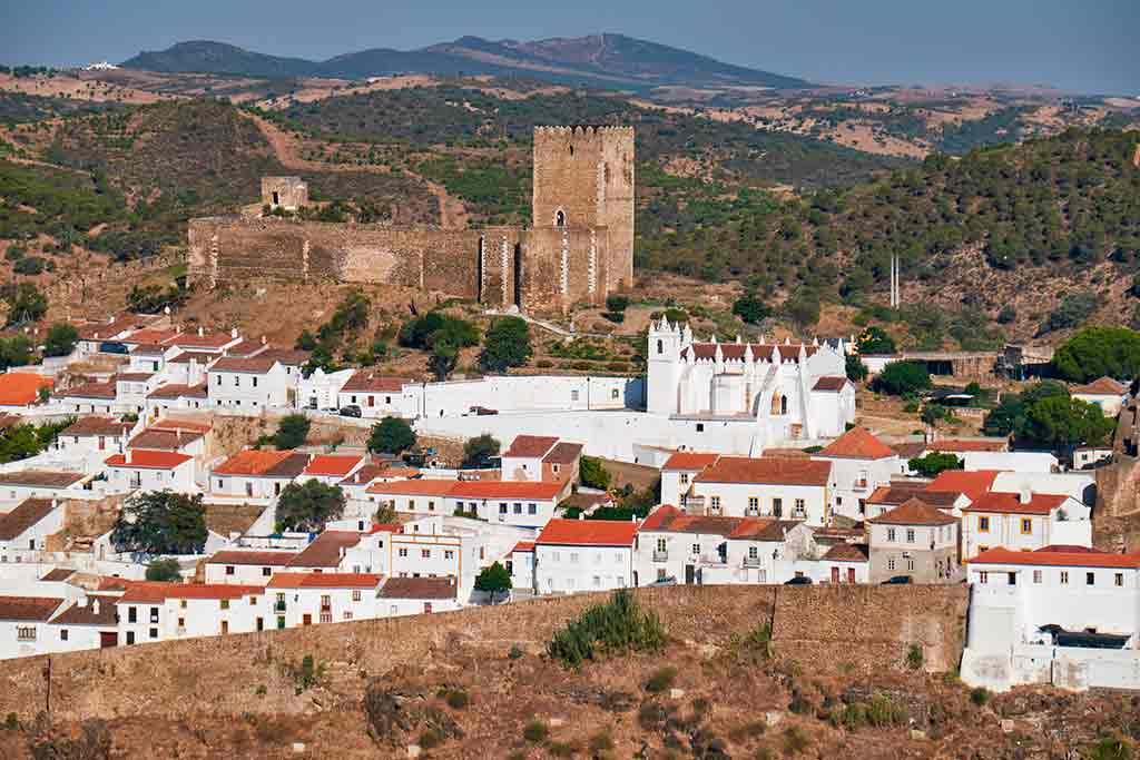 Castles in Portugal-Castle-of-Mertola