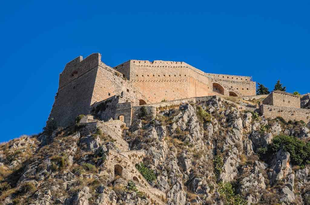 Famous Castles in Greece-Castle-of-Nafplio