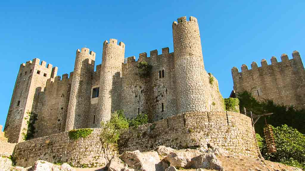 Famous Castles in Portugal-Castle-of-Obidos