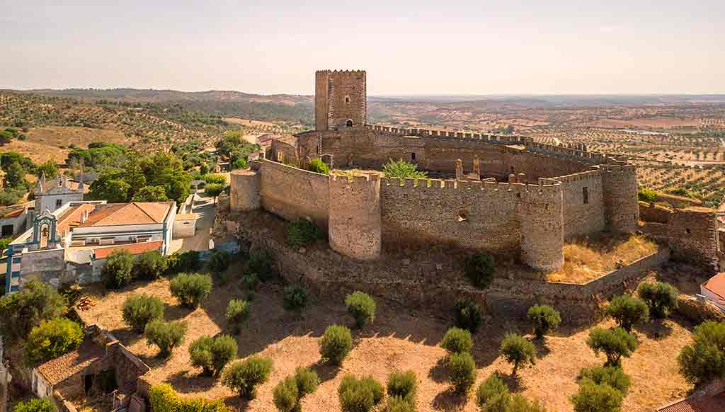 Castles in Portugal-Castle-of-Portel