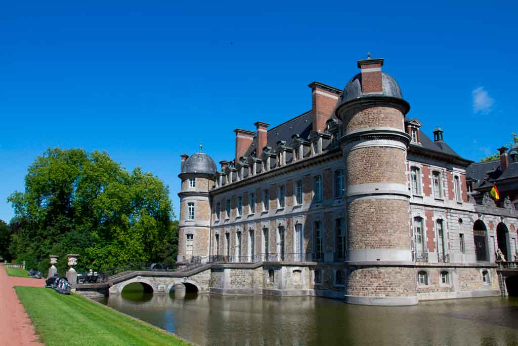 Castles in Belgium-Chateau-de-Beloeil