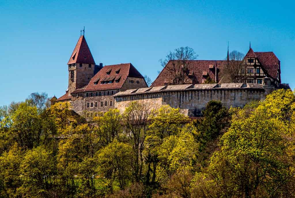 Best Bavarian Castles-Coburg-Fortress
