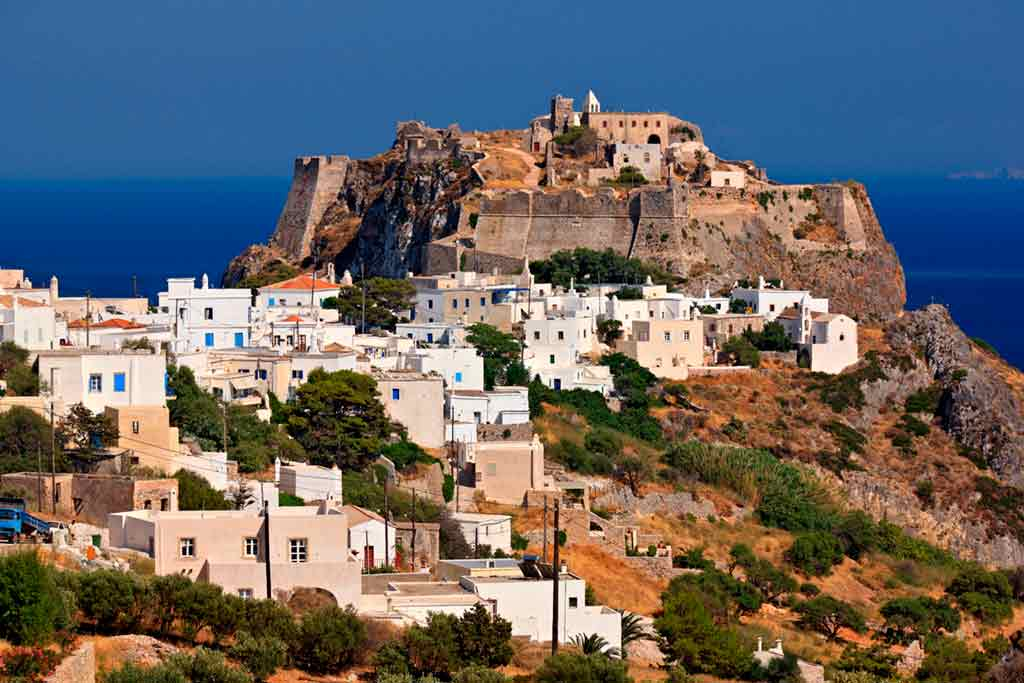 Famous Castles in Greece-Cythera-Castle