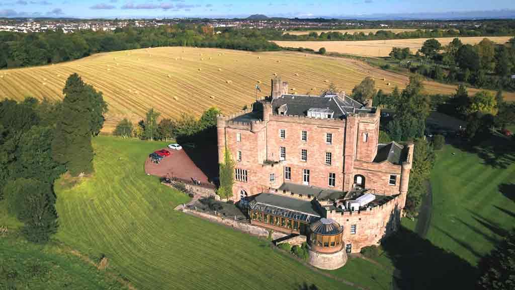 Edinburgh Castles-Dalhousie-Castle