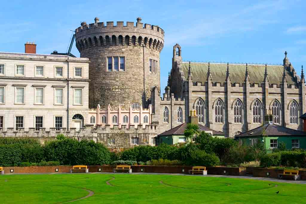 Best castles near Dublin- Dublin castle
