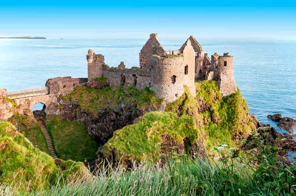 Haunted castles-Dunluce-Castle
