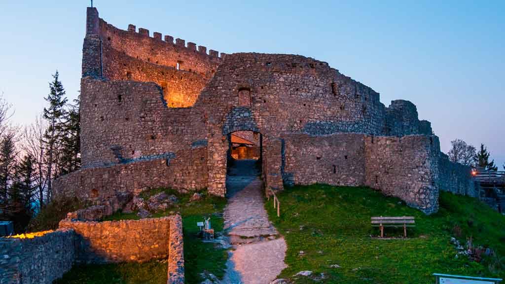Best Bavarian Castles-Eisenberg-Castle