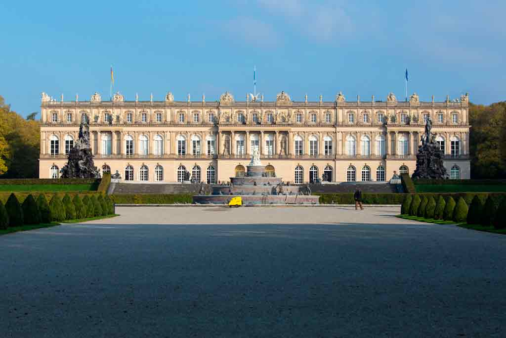 Castles near Munich-Herrenchiemsee-New-Palace