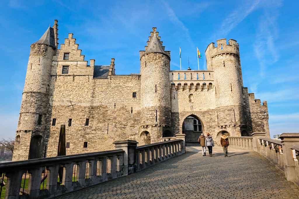 Best Belgian Castles-Het Steen