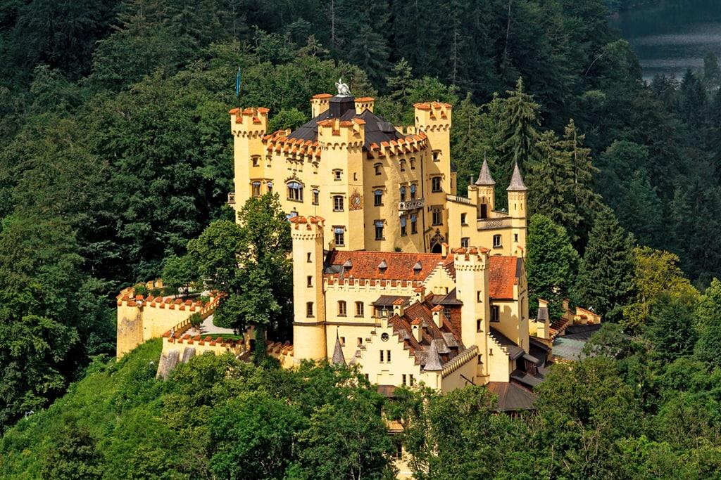 Best castles in Bavaria-Hohenschwangau Castle