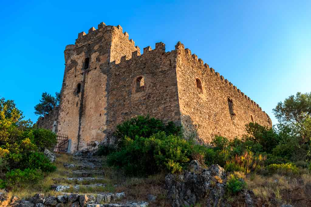 Greek Castles-Kalamata-Castle