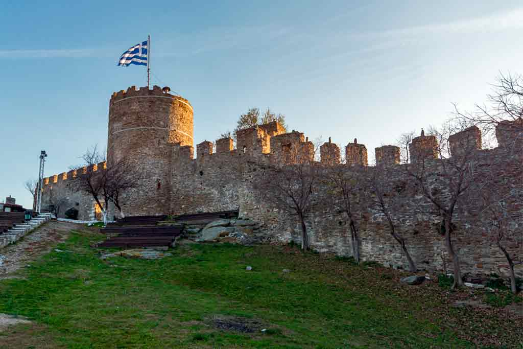 Castles in Greece-Kavala-Castle