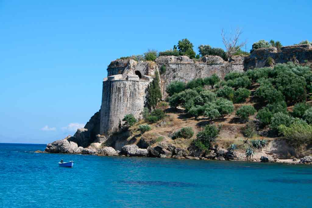Best castles in Greece-Koroni-Castle