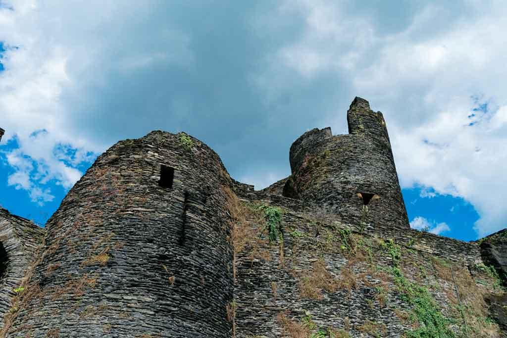Belgian Castles-La-Roche-en-Ardenne-Castle