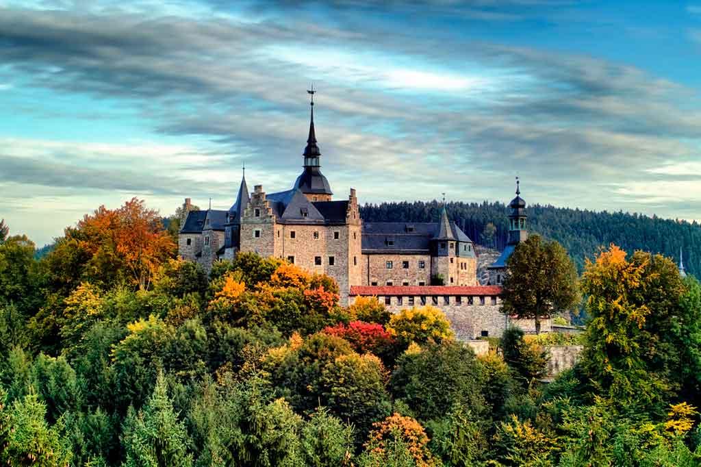 Bavarian Castles-Lauenstein-Castle