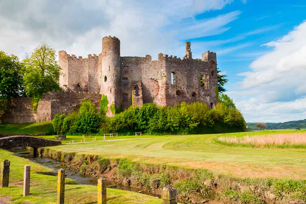 Famous Castles in South Wales-Laugharne-Castle-Castell-Talacharn