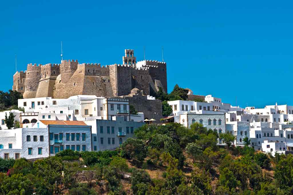 Famous Castles in Greece-Leros-Castle