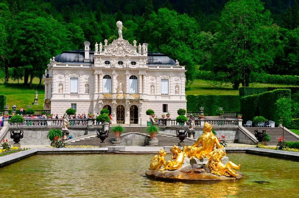 Famous Castles near Munich-Linderhof-Palace
