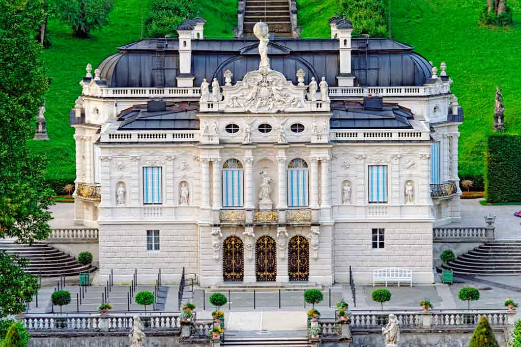 Famous Castles in Bavaria-Linderhof-Palace