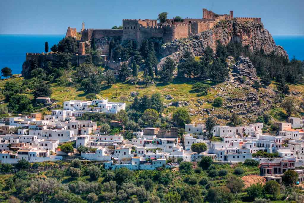 Best Greek Castles-Lindos-Castle