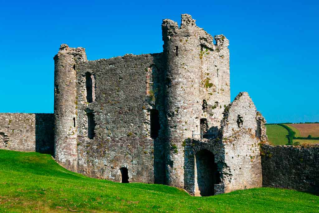 best South Wales castles-Llansteffan-Castle