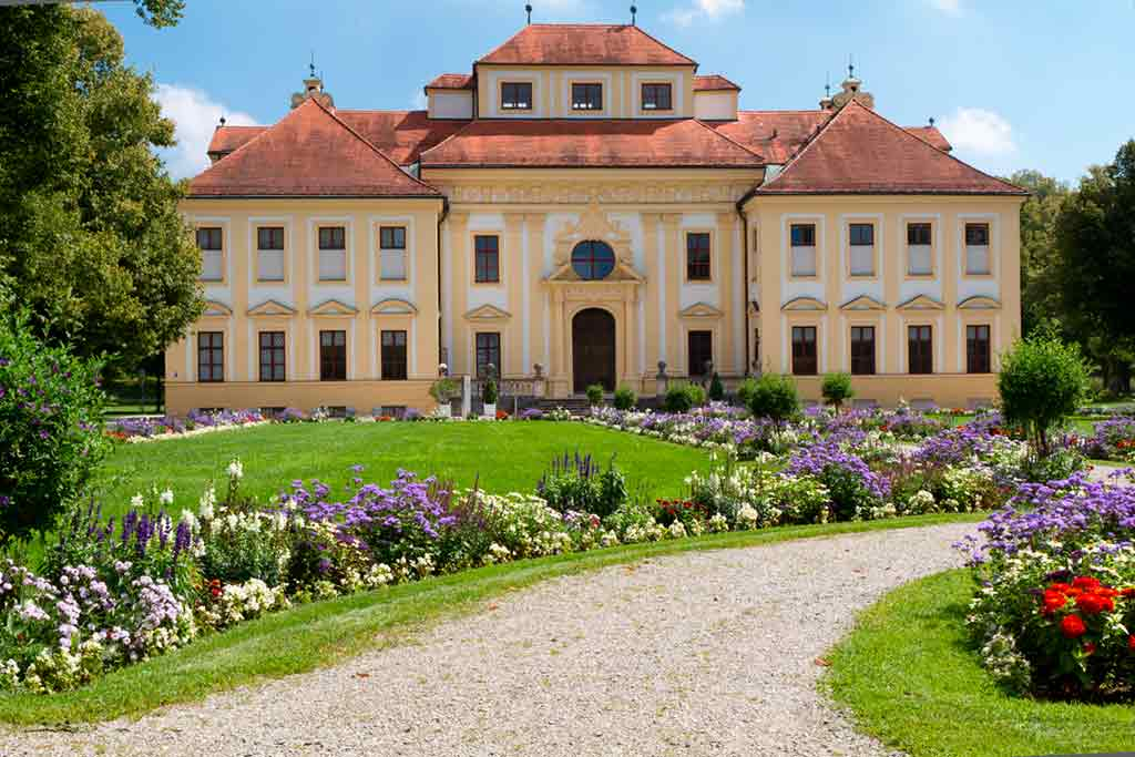 Castles near Munich-Lustheim-Palace